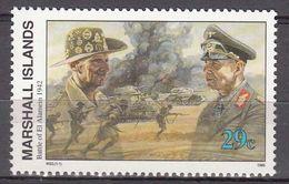 Marshall Islands 1992 WO II Battle Of El Alamein  1942  Michel 444  MNH 28050 - Marshall
