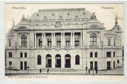 WARSZAWA - Filharmonia - Polonia