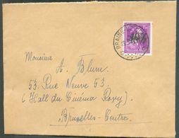 1Fr50 LEOPOLD III Col Ouvert -10% Obl. Sc De BRAINE-LE-COMTE Sur Lettre Du 25-5-1946 Vers Bruxelles - 15817 - 1946 -10%