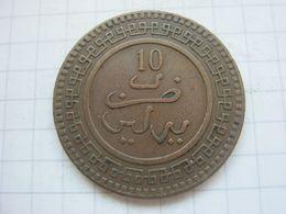 Morocco , 10 Mazunas 1320 (1903) Berlin Mint - Marokko