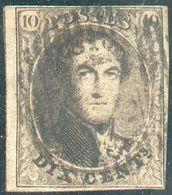 Médaillon 10 Centimes Brun, Margé Et Voisin. Effigie Dégagée. -TB- 15820 - Belgio