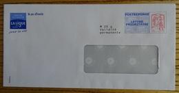 PRÊTS A POSTER POSTRÉPONSE LIGUE CONTRE LE CANCER LETTRE PRIORITAIRE CIAPPA KAVENA 14P418 - Postal Stamped Stationery