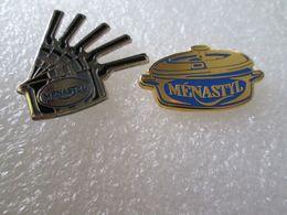 PIN'S   LOT 2  MENASTYL - Pin's