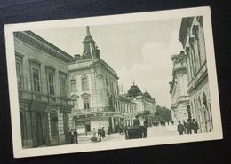 Yugoslavia 1922 Serbia Beograd Postcard Street Architecture  C9 - Yougoslavie