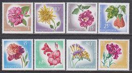 Albania 1967 - Flowers, Mi-Nr. 1143/50, MNH** - Albanien