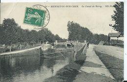 MENNETOU SUR CHER - Le Canal Du Berry ( Péniche ) - France