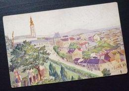 Yugoslavia Serbia Beograd Postcard View From Pristaniste  C13 - Yougoslavie
