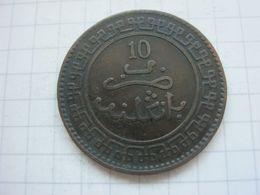 Morocco , 10 Mazunas 1321 (1903) Birmingham Mint - Marokko
