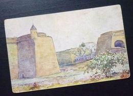 Yugoslavia Serbia Beograd Postcard Part Of The City Old Town  C15 - Yougoslavie