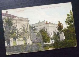 Yugoslavia Serbia Beograd Postcard Dositej Obradovic Monument  C16 - Yougoslavie