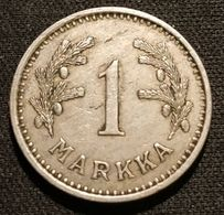 FINLANDE - FINLAND - 1 MARKKA 1933 - KM 30 - Finlandia