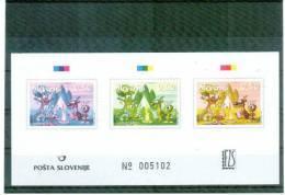 Slowenien / Slovenia 2007 Europa Cept Sonderdruck / Essay Postfrisch / Unmounted Mint - Europa-CEPT