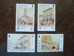 1990  Europa Post Offices    SG =  517 / 520   ** MNH - Jersey
