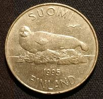 FINLANDE - FINLAND - 5 MARKKAA 1995 - KM 73 - ( Phoque ) - Finlandia