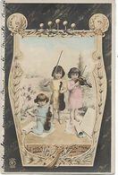 L100G380 - Enfants Faisant De La Musique, Fillettes Jouant Du Violon  - PR N°S.243 - Précurseur - Scenes & Landscapes