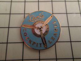 316a Pin's Pins / Rare & Belle Qualité !!! THEME : AVIATION / LIBERTO COCKPIT LEAGUE - Avions