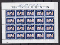 Europa-CEPT - Liechtenstein - 1964 - Michel Nr. 444 -  Klb. -  Postfrisch - 20 Euro - Europa-CEPT