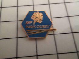 316a Pin's Pins / Rare & Belle Qualité !!! THEME : MARQUES / SFP PARIS OUEST Société Des Funèbres Pompes ? - Marques