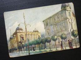 Yugoslavia Serbia Beograd Postcard Old And New King's Castle  C33 - Yougoslavie