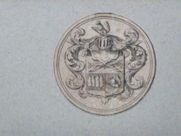Ex-libris Héraldique XVIIIème - HOLLANDE - BRAAMCAMP - Bookplates