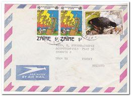 Zaïre, 12 Letters - 1980-89: Oblitérés