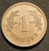 FINLANDE - FINLAND - 1 MARKKA 1941 - KM 30a - Finlandia