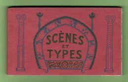 SCÈNES & TYPES. Album 23 Cps Détachables. Env. 1910. Bon état. - Afrique