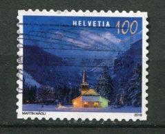 18594 SUISSE N°Mi. 2580 ° 1F Châlet En Hiver  2018   TB - Used Stamps