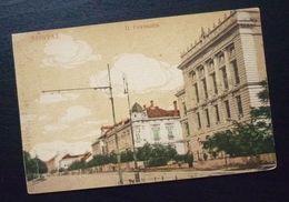 Yugoslavia Serbia Beograd Postcard II Gymnasium  C40 - Yougoslavie