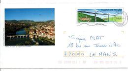 PAP MILLAU AVEYRON - Postal Stamped Stationery