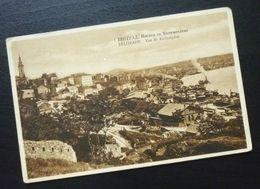 Yugoslavia Serbia Beograd Postcard View From Kalemegdan Fortress  C43 - Yougoslavie