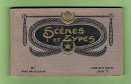SCÈNES & TYPES. Album 15 Cps Détachables. Env. 1910. Bon état. - Afrique