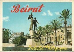 Beirut (Libano, Lebanon) Martyr's Square, Place Des Martyres, Piazza Dei Martiri - Líbano