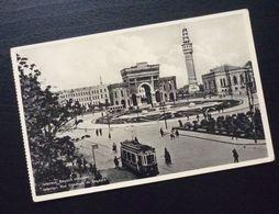 Yugoslavia Serbia Beograd Postcard Istanbul Turkey Beyazit Meydani  C44 - Yougoslavie