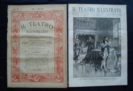 Il Teatro Illustrato 1883 Anno III Numero 28 Saint Seans Enrico VIII - Libri, Riviste, Fumetti