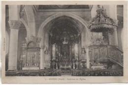 59 ARNEKE Intérieur De L'Eglise - Frankreich