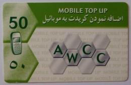 AFGHANISTAN - GSM Top Up - 50 Units - Used - R - Afghanistan