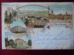 POLAND / TESCHEN - CIESZYN / 1897 (AB33) - Pologne
