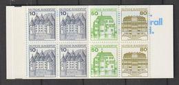 Bundesrepublik Deutschland / 1987 / Markenheftchen Mi. 24k OZ ** (BW87) - BRD