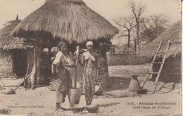 2027-015  FORTIER Village  Coll Géné Fortier Dakar N° 302    Vente Fermée  Le 18+07 - Guinée Française