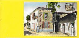 """CHERAC Rare Restaurant """"La Gaiété"""" Mosaïque Villeger (CAP) Charente Mme (17) - France"""
