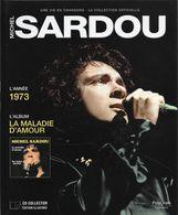 """LIVRE + CD  Michel Sardou """"  La Maladie D'amour  """" - Music & Instruments"""