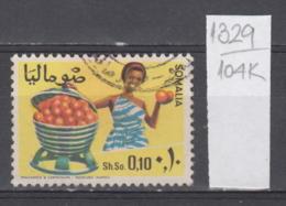104K1329 / 1968 - Michel Nr. 122 Used ( O ) Citrus Sinensis (Sweet Orange Group) Agricultural Produce , Somalia Somalie - Somalie (1960-...)