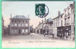 4 - SUIPPES - PLACE DU MARCHE ET RUE SAINT HONORE - France
