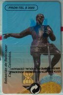 COLUMBIA - Chip - $3000 - Sebastian De Belalcazar - Emcali - 10/95 - Mint Blister - Colombia