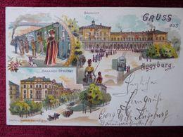 GERMANY / AUGSBURG / 1898 (AB33) - Augsburg