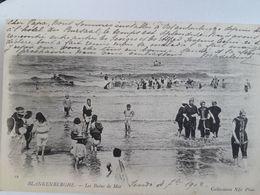 Carte Postale De Blankenberge, Les Bains De Mer, 1902, « 68 » - Blankenberge
