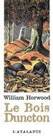 M-P MARQUE-PAGES  L'ATALANTE  LE BOIS DUNCTON WILLIAM HORWOOD TAUPES - Marque-Pages