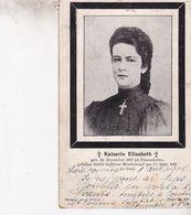 KAISERIN ELISABETH 1838-1897 - Familles Royales