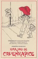 Fairy Tale Little Red Riding Hood Theater Play Promotion Poster Postcard - Contes, Fables & Légendes